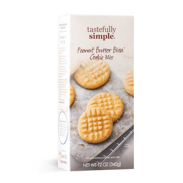 Peanut Butter Bliss Cookie Mix Box Displayed