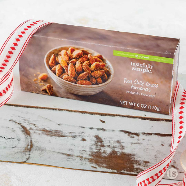 Red Chile Queso Almonds Package