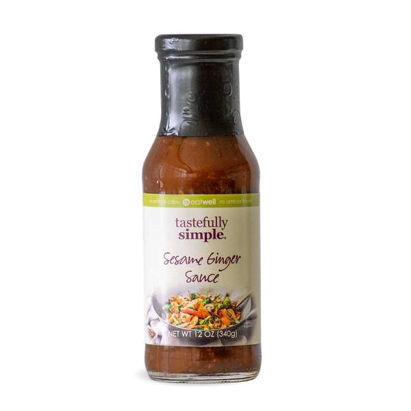 Sesame Ginger Sauce Bottle