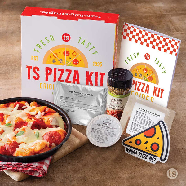 TS Pizza Kit Products Displayed