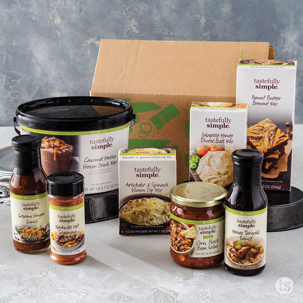 Takeout Teasers Meal Kit Product Displayed