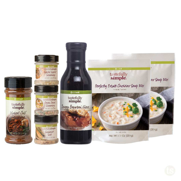 TS Favorites 5 Meal Kit Products Displayed