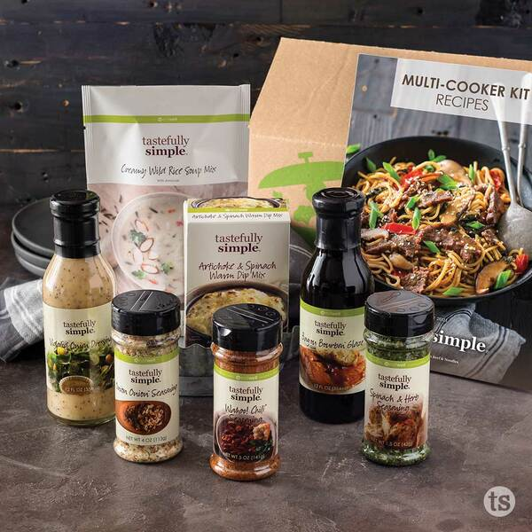 Multi-Cooker 10-Meal Kit FW21 Products Displayed