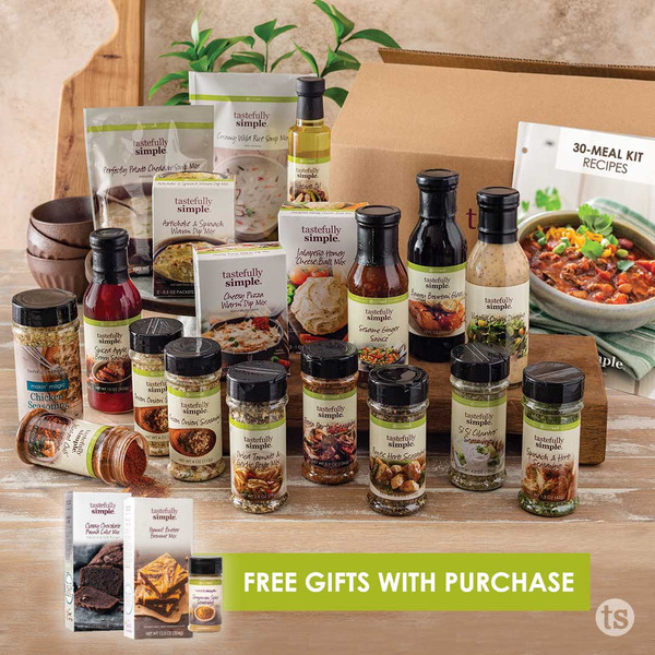 30-Meal Kit FW21 Products Displayed