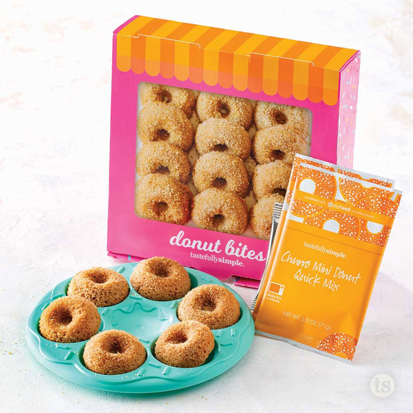 Donut Bites Mini Kit Products Displayed