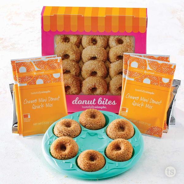 Donut Bites Large Kit Products Displayed