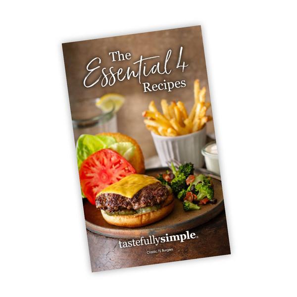 The Essential 4 Recipe Book Cover