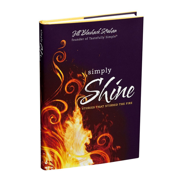 Simply Shine Hardcover Book by Jill Blashack Strahan