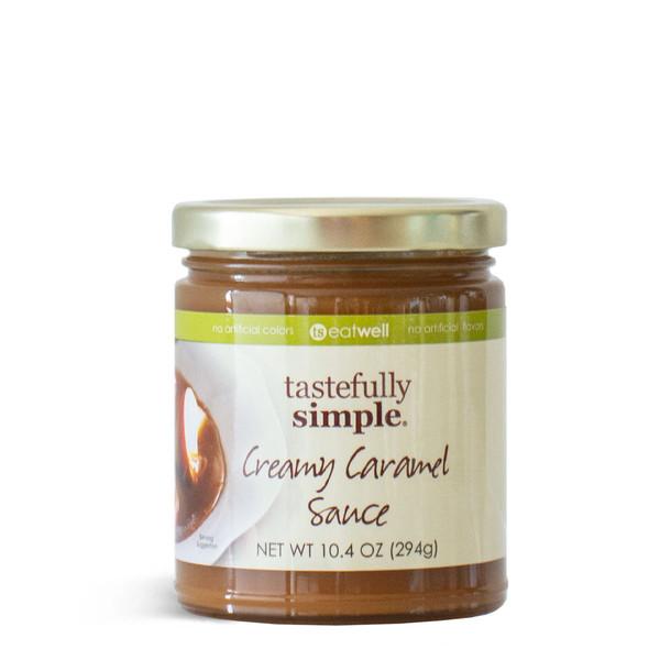 Creamy Caramel Sauce Jar