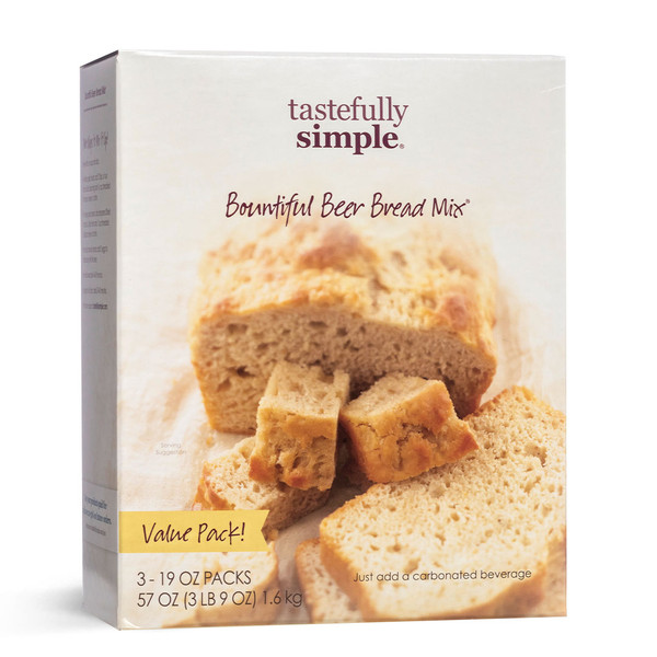 Bountiful Beer Bread Mix Value Pack Package