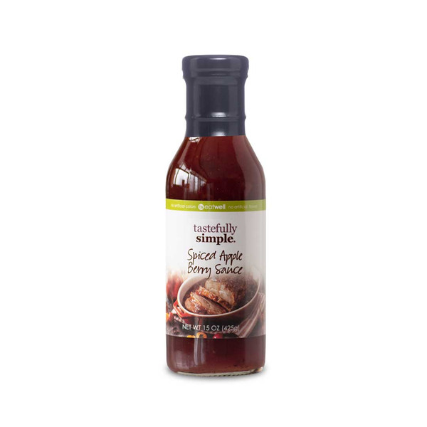 Spiced Apple Berry Sauce bottle