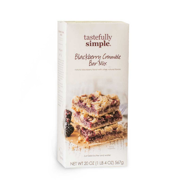 Blackberry Crumble Bar Mix Product
