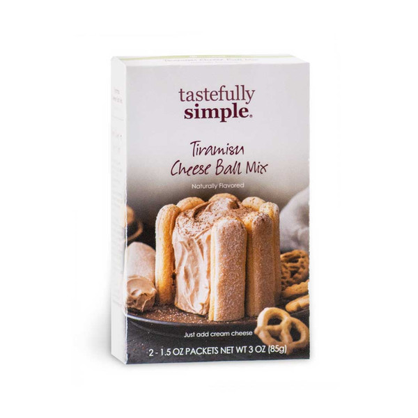 Tiramisu Cheese Ball Mix Product