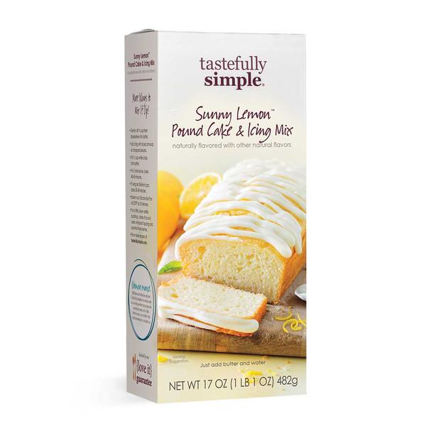 Sunny Lemon™ Pound Cake & Icing Mix