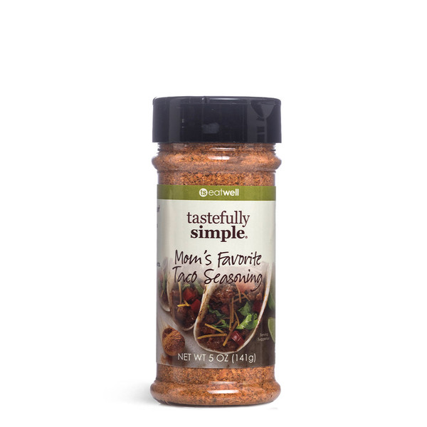 Moms Favorite Taco Seasoning shaker