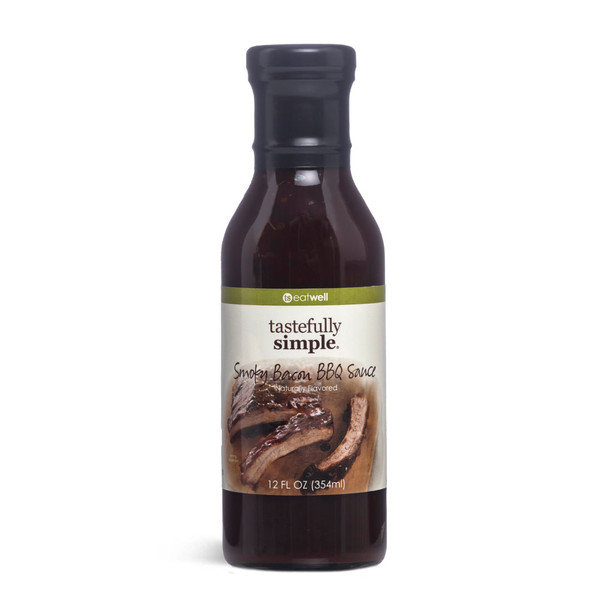 Smoky Bacon BBQ Sauce Bottle