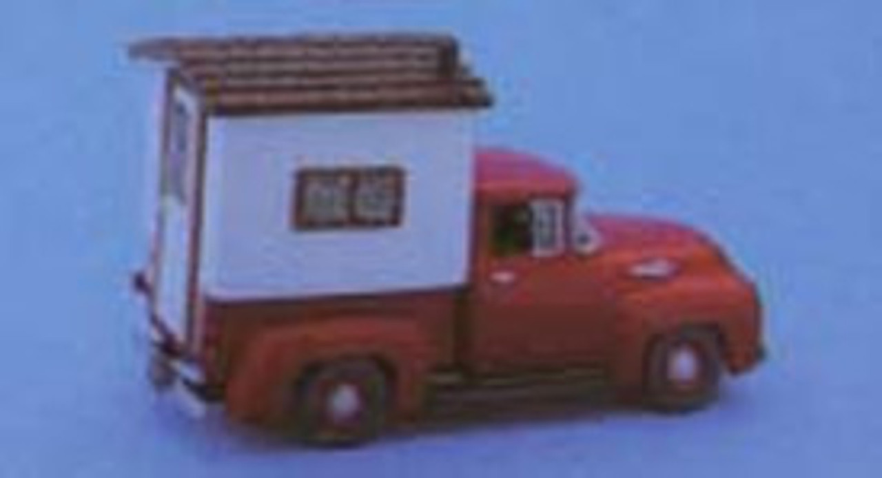 1956 Ford F-100 1/2 ton Pickup Truck with Camper Topper Kit
