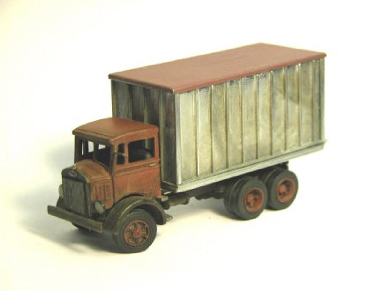 1933 Mack CJ Truck with Van Body Kit