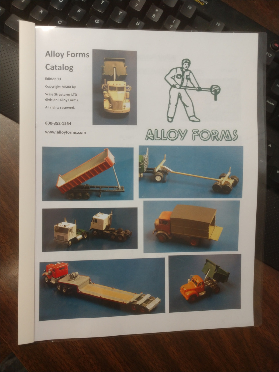Alloy Forms Catalog - HO Scale