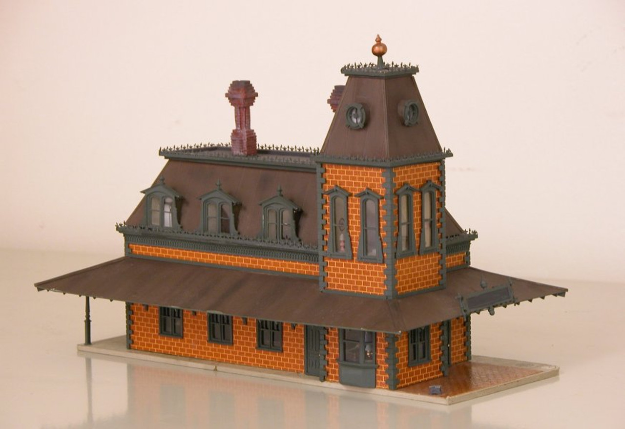 Victorian Station Super Kit w/ full Interior & Exterior Details Kit