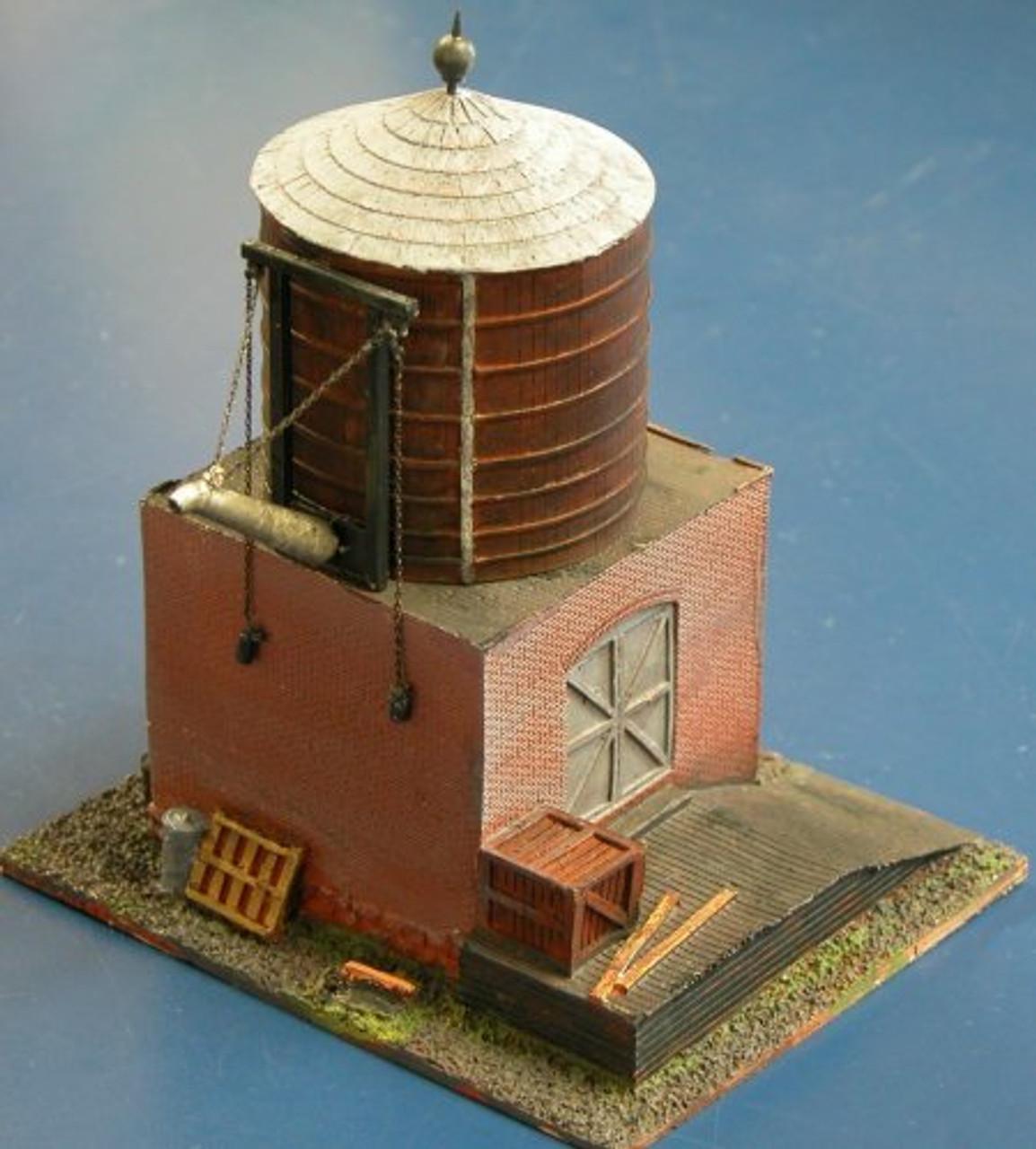 Wood Water Tank Kit (Resin)