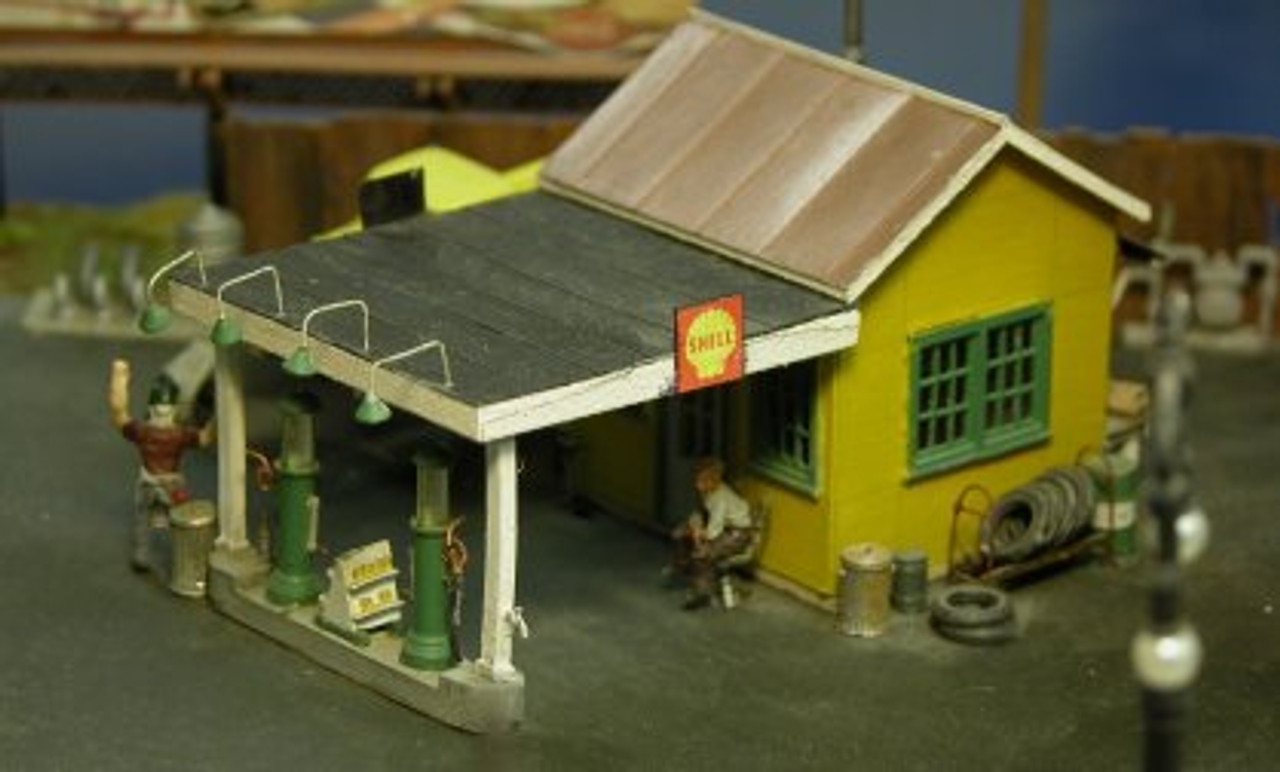 1920's and 1930's Gas / Service Station Details