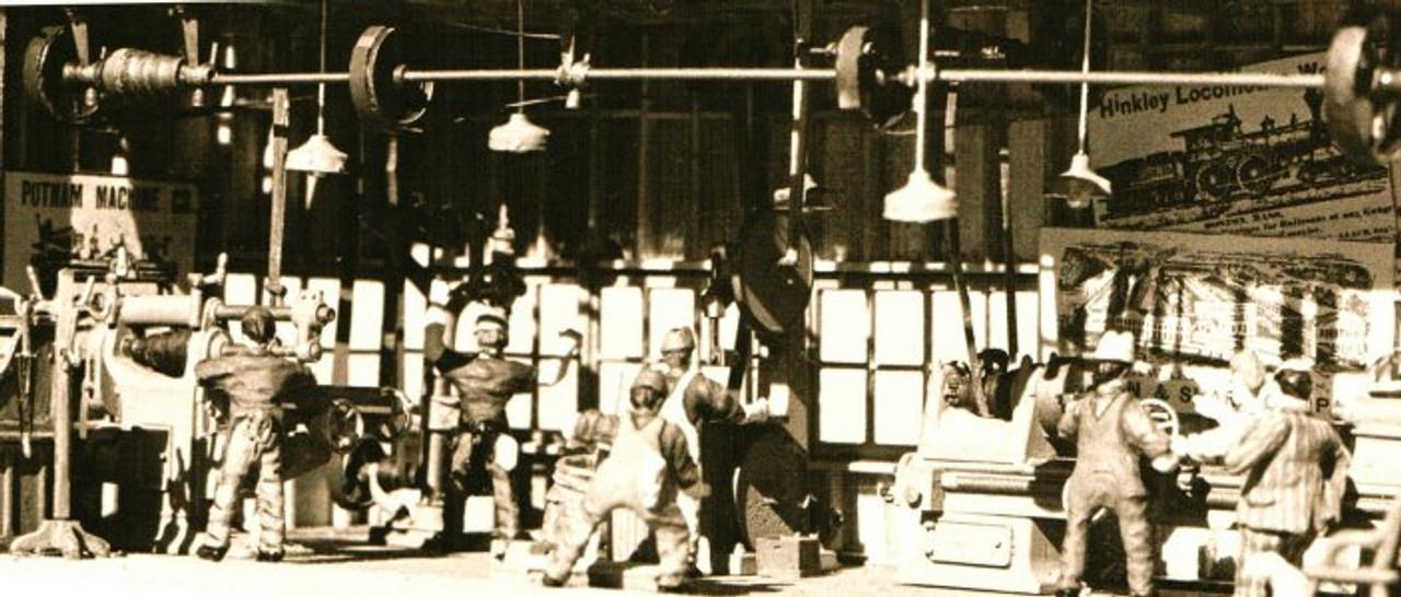 Machine Shop Machinery Set