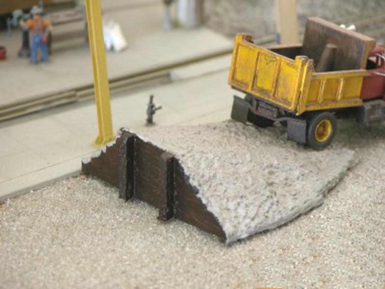 Earthen Ramp & Timber Loading Dock