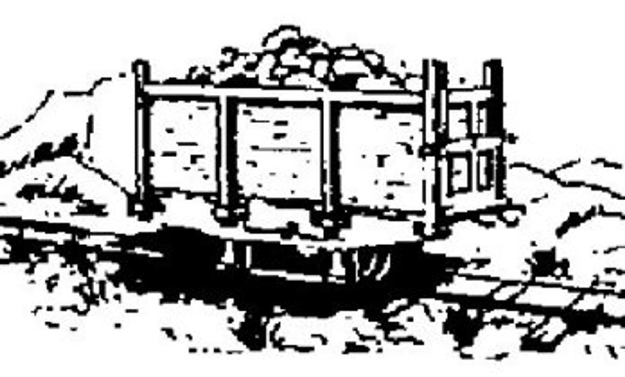 2 Foot Gauge 1890 Wood Mine Car Kit