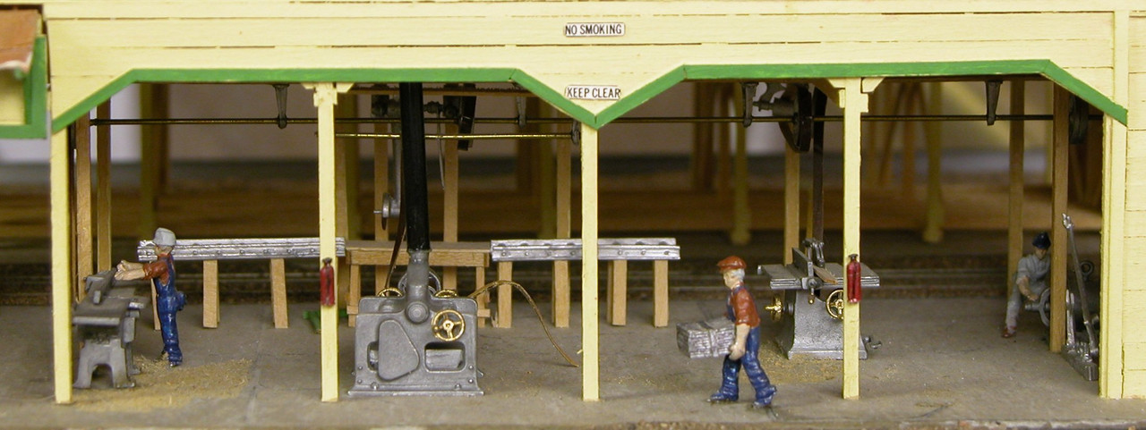 Lumber Company Machinery Kit
