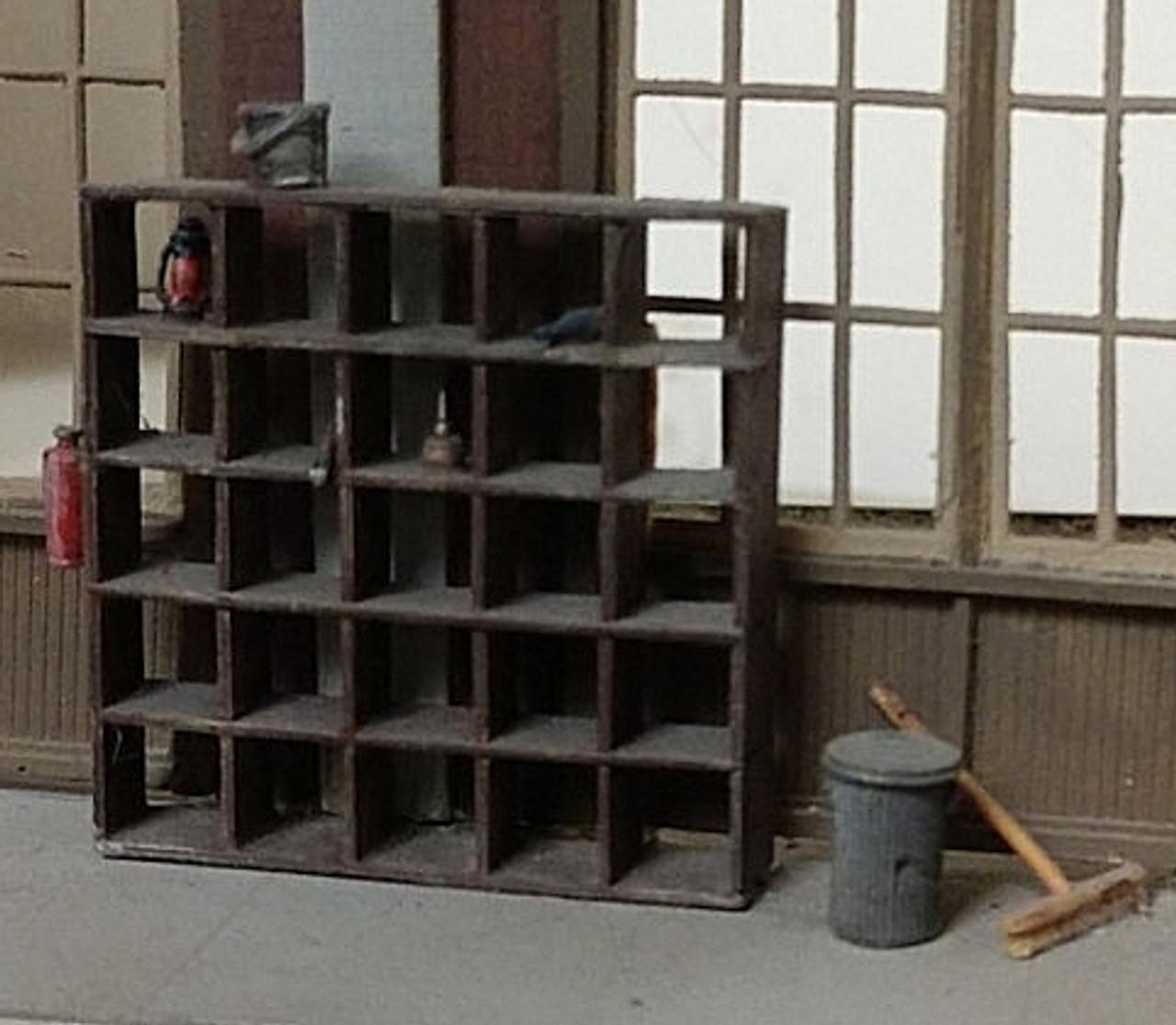 Wooden Storage Bins Shelves