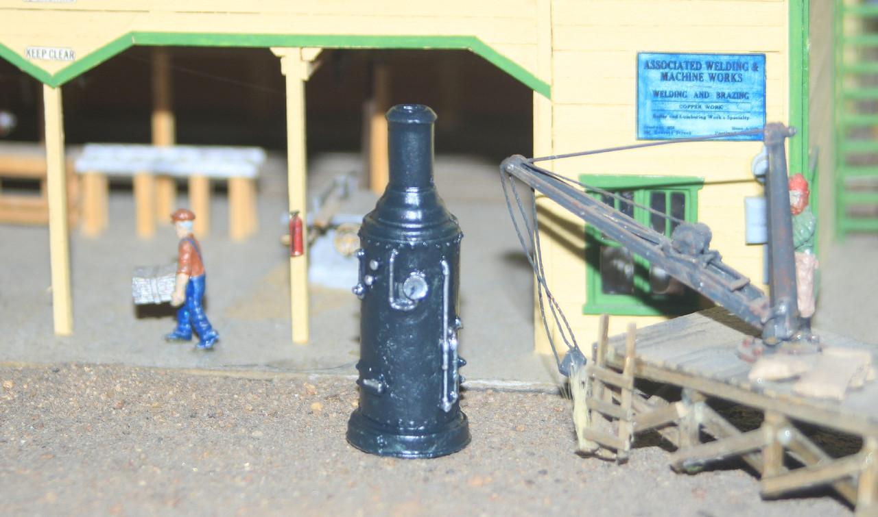 Vertical Stationary Steam Engine Boiler