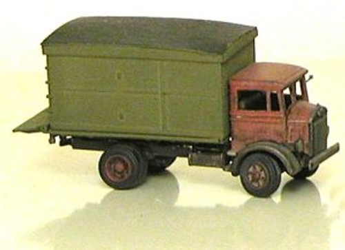 1933 Mack CJ Truck with Delivery Van Body Kit