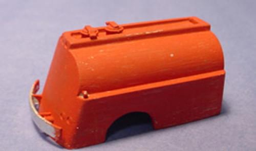 13 ft Sloped & Curved Back Fuel Delivery Tanker Body Kit