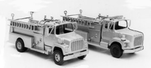 1969 Ford LN Firetruck with Pierce Pumper Body Kit