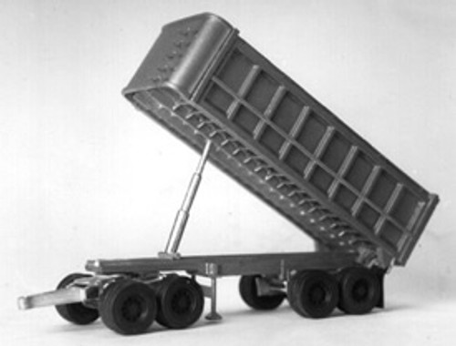 22 Ft End Dump Trailer with Tandem Axle Dolly Kit