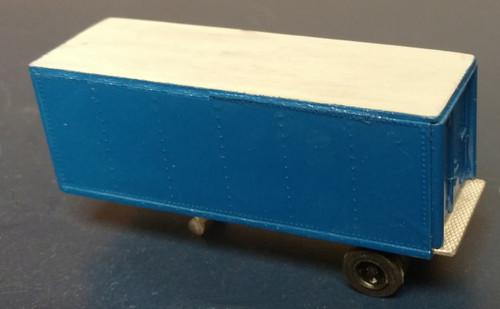 24 ft Riveted Sided Van Trailer Kit