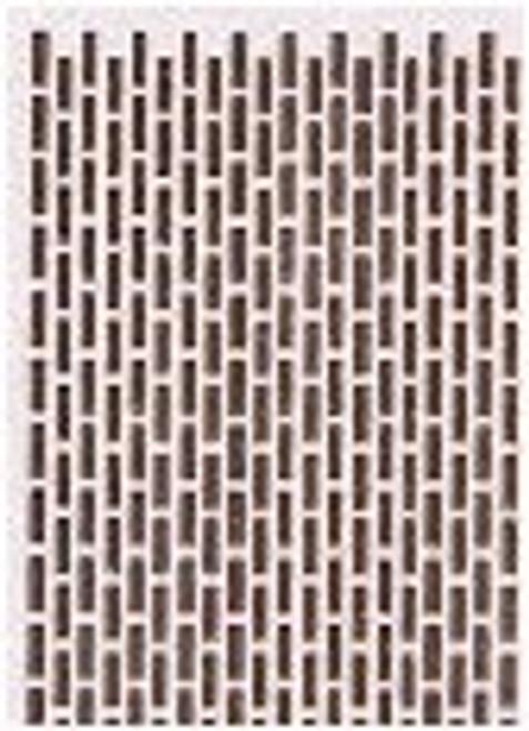Brown Raised Brick Facing Paper