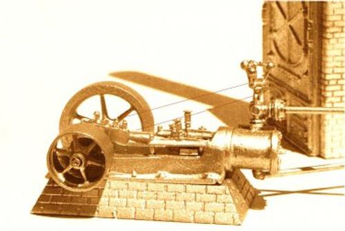 Clark 150 HP Steam Engine Kit
