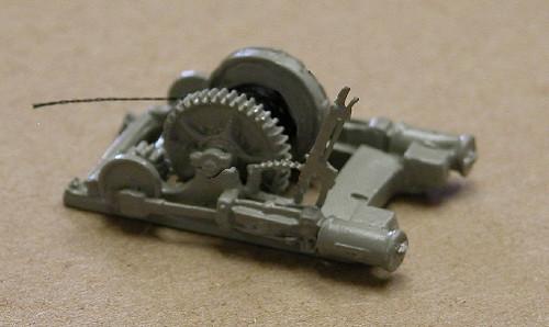 Steam Hoist Cradle & Winch Unit Kit