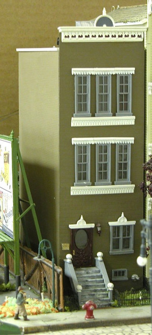 New York Brownstone Apartment Building Kit