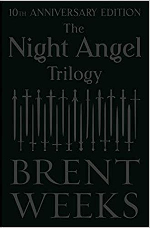The Night Angel Trilogy: 10th Anniversary Edition (Hardcover) (SIGNED First Edition)