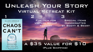 Unleash Your Story - Virtual Retreat Kit (with Chaos Can't)