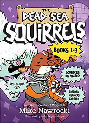The Dead Sea Squirrels 3-Pack Books 1-3: Squirreled Away / Boy Meets Squirrels / Nutty Study Buddies