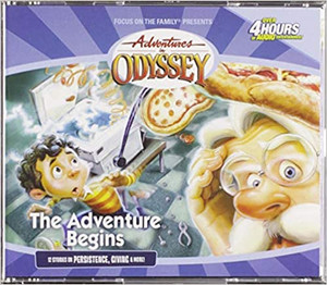The Adventure Begins: The Early Classics (Adventures in Odyssey Golden Audio Series No. 1) Audio CD