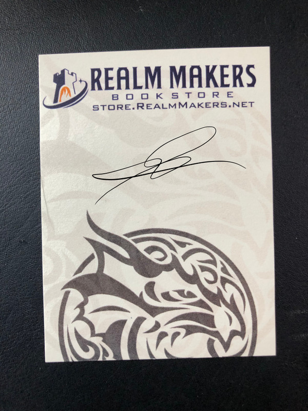 Realm Makers Book Plate - SIGNED