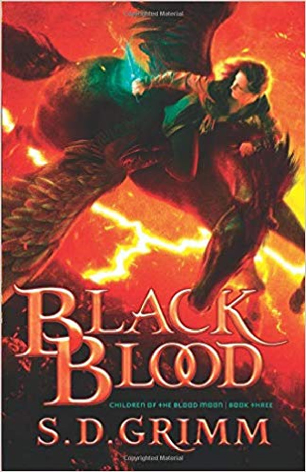 Black Blood (Children of the Blood Moon - Book 3)
