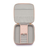 square jewelry box blush