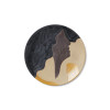 ferm living aya female strong handmade clay platter