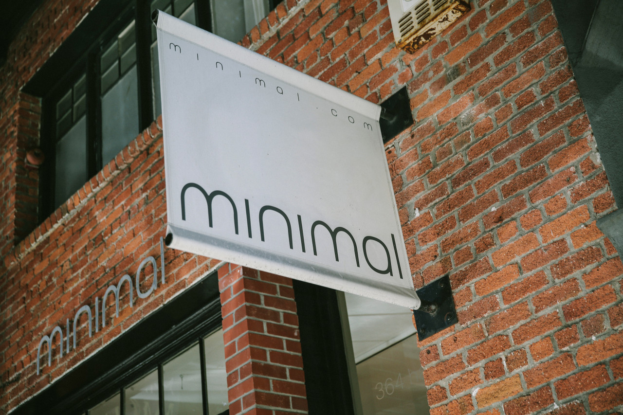 minimal shop in san francisco